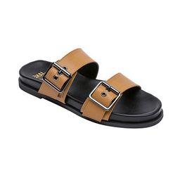 Women's Audrey Double Buckle Footbed Sandals | Macys (US)