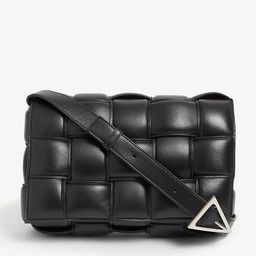 Padded Cassette intrecciato leather cross-body bag | Selfridges