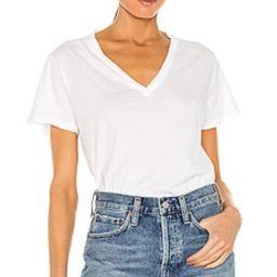 Thea V Neck T Shirt                                          AGOLDE | Revolve Clothing (Global)
