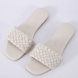 Woven Slide Sandals | SHEIN