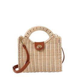 Nanette Lepore Wicker Handbag | Walmart (US)