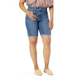 Signature by Levi Strauss & Co. Women's Mid Rise Bermuda Shorts | Walmart (US)