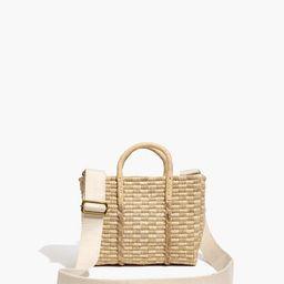 The Mini Straw Tote Bag | Madewell