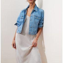Fashion Crop Denim Jacket | Banana Republic Factory