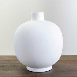 New!Matte White Round Vase | Kirkland's Home