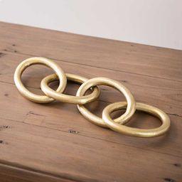 New!Gold Oversized Metal Chain | Kirkland's Home
