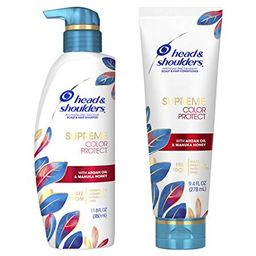 Head & Shoulders Dandruff Shampoo and Conditioner, Supreme Color Protect with Argan Oil and Manuka H   Walmart (US)