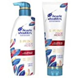 Head & Shoulders Dandruff Shampoo and Conditioner, Supreme Color Protect with Argan Oil and Manuka H   Amazon (US)