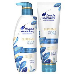Head & Shoulders Supreme, Scalp Care and Dandruff Treatment Shampoo and Conditioner Bundle, with Arg   Walmart (US)