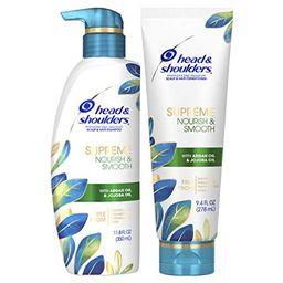 Head and Shoulders Supreme Scalp Care and Dandruff Treatment Shampoo and Conditioner Bundle, with Ar   Walmart (US)