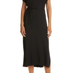 Double V-Neck Knit Popover Dress | Nordstrom