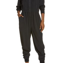 Getaway Long Sleeve Stretch Woven Jumpsuit | Nordstrom