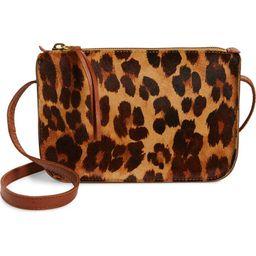 Simple Leopard Print Genuine Calf Hair Crossbody Bag | Nordstrom