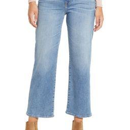 Alexa High Waist Crop Wide Leg Jeans | Nordstrom