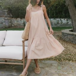 Seersucker Summer Dress - Blush | Jenni Kayne | Jenni Kayne