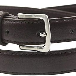 Maikun Womens Belt Skinny Leather Solid Color Pin Buckle Simple Waist for Girls Ladies   Amazon (US)