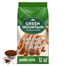 Green Mountain Coffee Roasters Caramel Vanilla Cream, Ground Coffee, Flavored Light Roast, Bagged 12 | Amazon (US)
