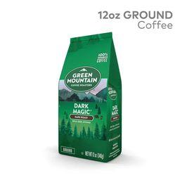 Green Mountain Coffee Dark Magic, Ground Coffee, Dark Roast, Bagged 12oz | Walmart (US)