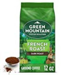 Green Mountain Coffee Roasters French Roast, Ground Coffee, Dark Roast, Bagged 12 oz | Amazon (US)