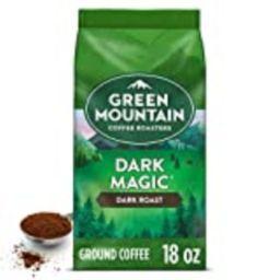 Green Mountain Coffee Roasters Dark Magic, Ground Coffee, Dark Roast, Bagged 18 oz | Amazon (US)