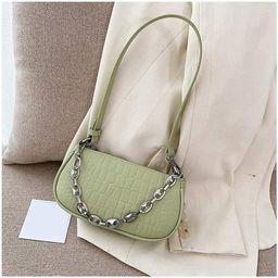 Shoulder Bag, Small Retro PU Leather HandBags Purses W/Zipper Closure for Women | Amazon (US)