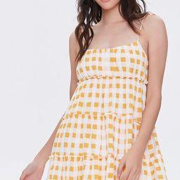 Buffalo Plaid Cami Mini Dress   Forever 21 (US)