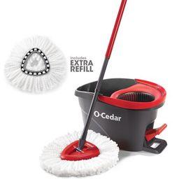 O-Cedar EasyWring Spin Mop w/ Extra Refill | Walmart (US)