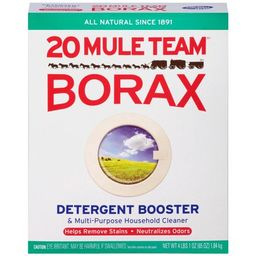 20 Mule Team Borax All Natural Laundry Detergent Booster and Multi-Purpose Household Cleaner, 65 Oun | Walmart (US)