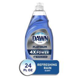 Dawn Platinum Dishwashing Liquid Dish Soap, Refreshing Rain, 24 Fl Oz | Walmart (US)
