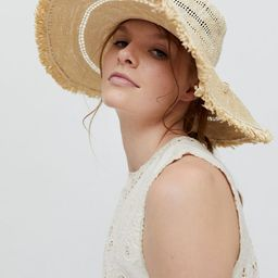 UO Wyler Straw Rancher Hat | Urban Outfitters (US and RoW)