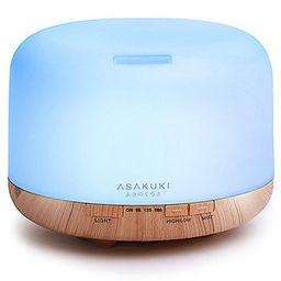 2017 ASAKUKI 500ml Premium, Essential Oil Diffuser, 5 In 1 Ultrasonic Aromatherapy Fragrant Oil Vapo | Walmart (US)