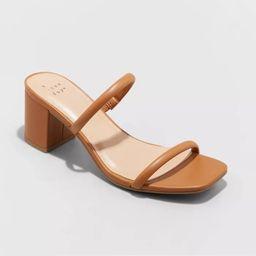 Women's Cris Block Heels - A New Day™ | Target