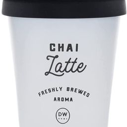 DW Home Latte Fresh Aroma Single Wick Candles with Lid (11.2 oz) (Chai Latte)   Amazon (US)