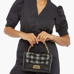 PUFFY QUILT CROSSBODY WITH CHUNKY CHAIN | ShoeDazzle Affiliate