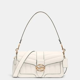 georgie shoulder bag with quilting | Coach Outlet