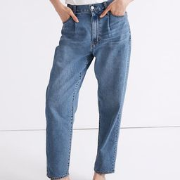 Baggy Tapered Jeans in Jewell Wash | Madewell