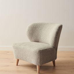 Brentwood Boucle Chair - Natural Wool Boucle | Jenni Kayne | Jenni Kayne