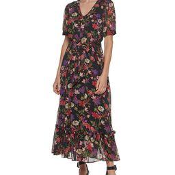 Calvin Klein Belted Flounce-Hem Maxi Dress & Reviews - Dresses - Women - Macy's | Macys (US)