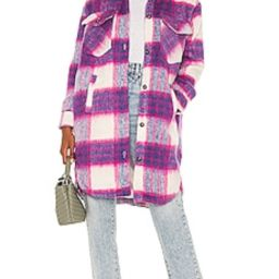 BLANKNYC Long Plaid Shacket in Prime Time from Revolve.com | Revolve Clothing (Global)
