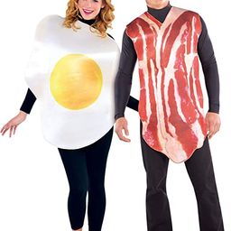 AMSCAN Bacon and Egg Halloween Costume for Adults, Standard, with Included Accessories   Amazon (US)