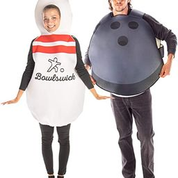 Bowling Ball & Pin Couples Costume - Funny Bowl Sport Halloween Outfits   Amazon (US)