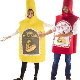 Hauntlook Ketchup & Mustard Couples Costume - Funny Food Unisex Outfits   Amazon (US)