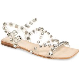 Calath-JV Crystal Embellished Strappy Sandal   Nordstrom