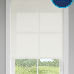 LEVOLOR Trim+Go 37-in x 72-in Seashell Light Filtering Cordless Roller Shade Lowes.com   Lowe's
