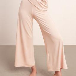 Sleek Knit Wide Leg Pant   Fabletics