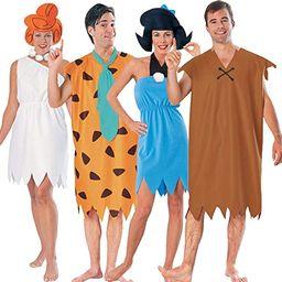 Adult Flintstones Group Costume Set   Amazon (US)