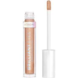 L'Oreal Paris Brilliant Eyes Shimmer Liquid Eye Shadow Makeup, Amber Sparkle, 0.1 fl oz - Walmart... | Walmart (US)