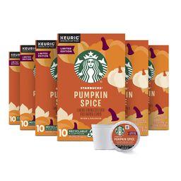 Starbucks K Cup Coffee Pods — Light Roast Coffee — Pumpkin Spice — Fall Limited Edition —...   Amazon (US)
