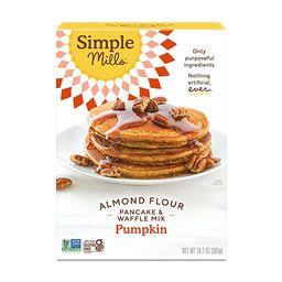 Simple Mills Almond Flour Pumpkin Pancake & Waffle Mix, Gluten Free, Good for Breakfast, Nutrient...   Amazon (US)