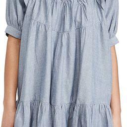 Amelie Mini Dress Denim   Shopbop